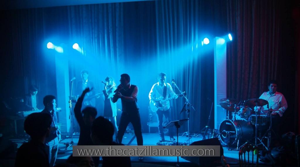 วงดนตรี After Party งานแต่งงาน The Catzilla music