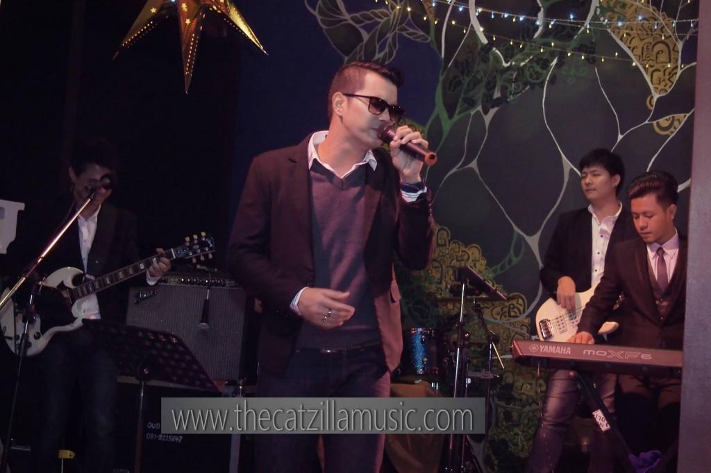 วงดนตรี After Party งานแต่งงาน Catzilla