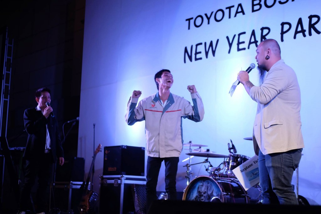 Staff Party งานเลี้ยงปีใหม่ บริษัท โตโยต้า โบโชกุ เอเชีย และAfter Partyสุดมันส์