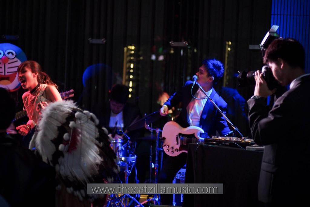 วงดนตรี งานแต่งงาน After party เลอเมอริเดียน catzilla music