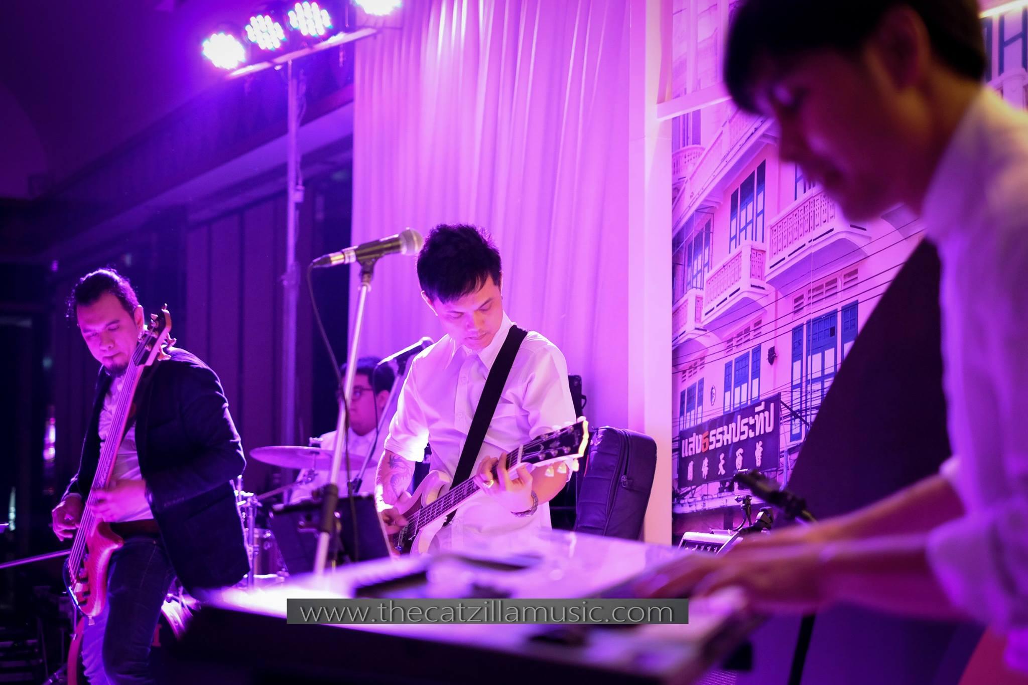 วงดนตรี งานแต่งงาน after Party บุ๋นแบนด์ Catzilla music