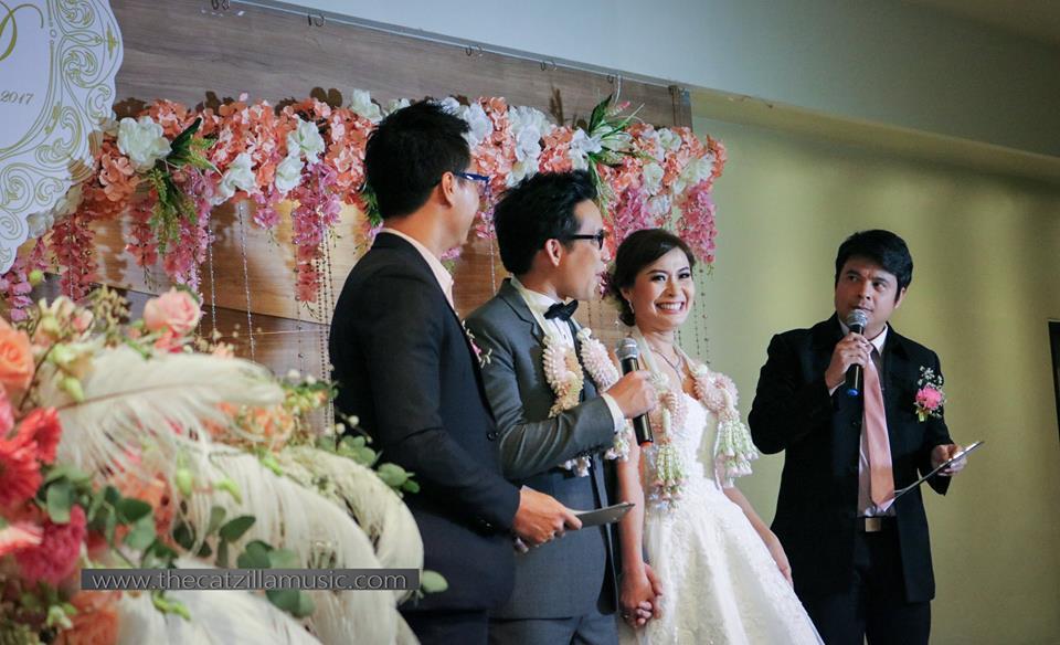 วงดนตรีงานเลี้ยง After Party Wedding วงดนตรีงานแต่งงาน วงดนตรีสด บุ๋นแบนด์ ฮั่วเซ่งฮง สาขาราชพฤกษ์7