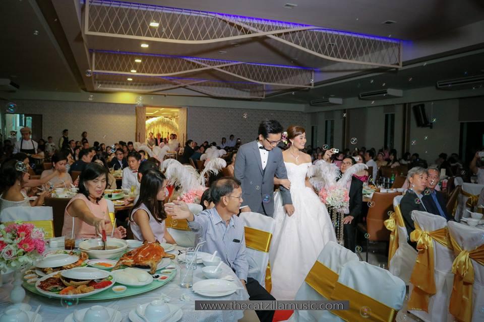 วงดนตรีงานเลี้ยง After Party Wedding วงดนตรีงานแต่งงาน วงดนตรีสด บุ๋นแบนด์ ฮั่วเซ่งฮง สาขาราชพฤกษ์8