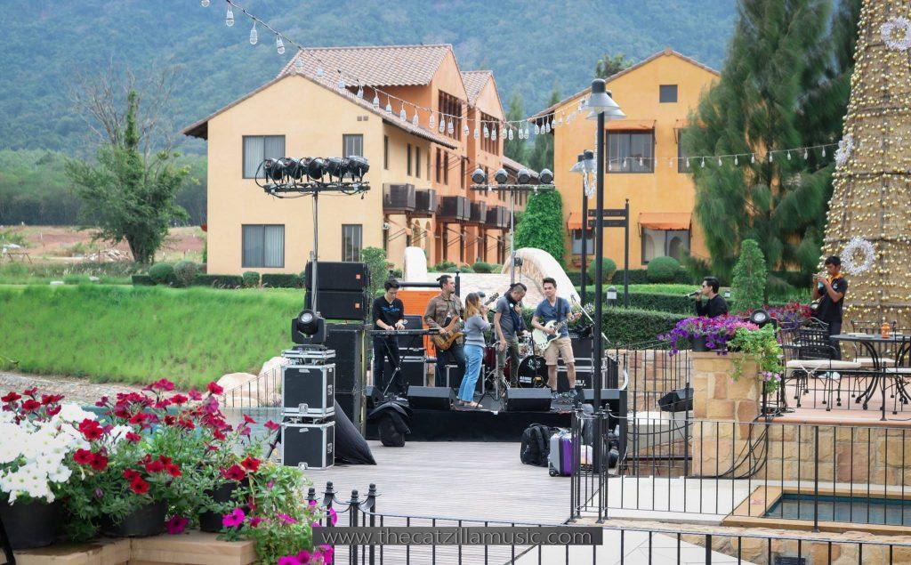 วงดนตรีงานเลี้ยง After Party Wedding วงดนตรีงานแต่งงาน วงดนตรีสด บุ๋นแบนด์ Club lago toscana valley