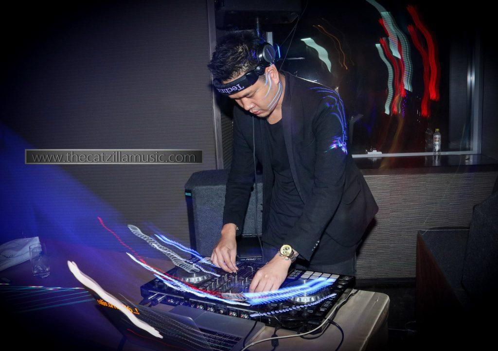 DJ งานแต่งงานที่โรงแรมโอกุระ After Party Wedding at Okura Bangkok วงดนตรี catzilla