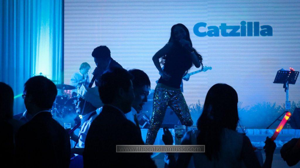 วงดนตรีงานแต่งงาน After Party บุ๋นแบนด์ Catzilla ah yat abalone