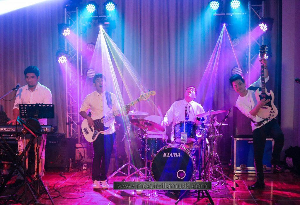 วงดนตรีงานแต่งงาน After Party Wedding บุ๋นแบนด์ Catzilla Novotel สุขุมวิท20