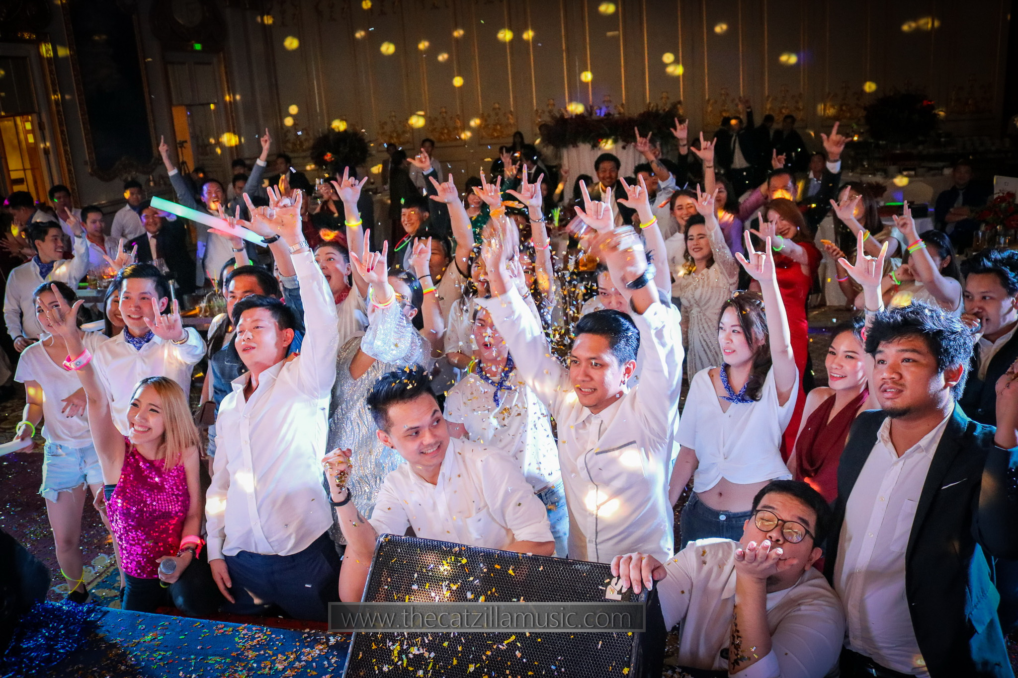 วงดนตรีงานแต่งงาน After Party ที่โรงแรมMandarin Oriental Bangkok
