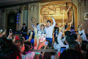 วงดนตรีงานแต่งงาน After Party ที่โรงแรมแมนดาริน โอเรียนเต็ล กรุงเทพ