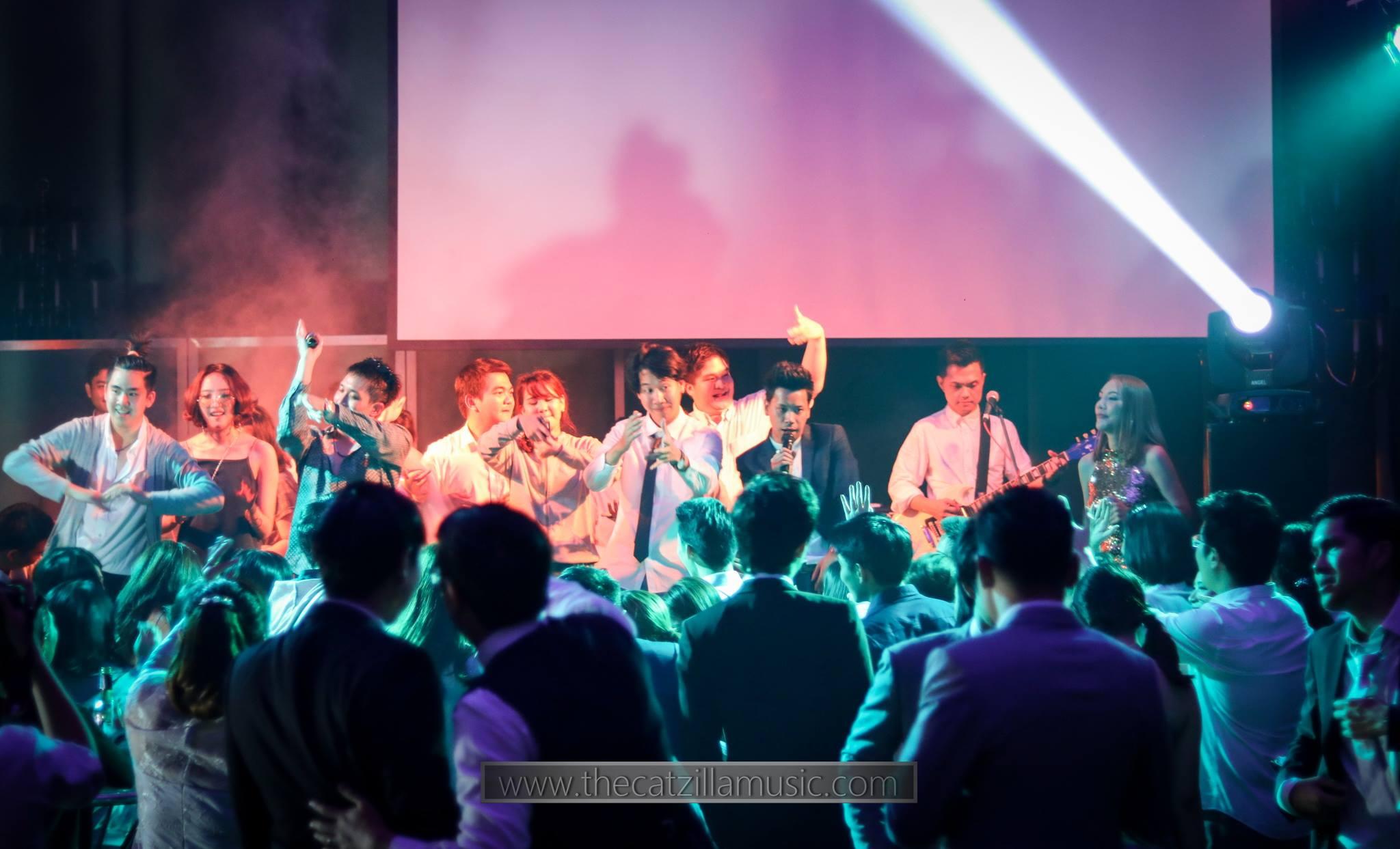 After-Party-Wedding-grand hyatt erawan-After Party งานแต่งงาน-แกรนด์ ไฮแอท เอราวัณ-วงดนตรีงานเลี้ยง-บุ๋นแบนด์-Catzilla