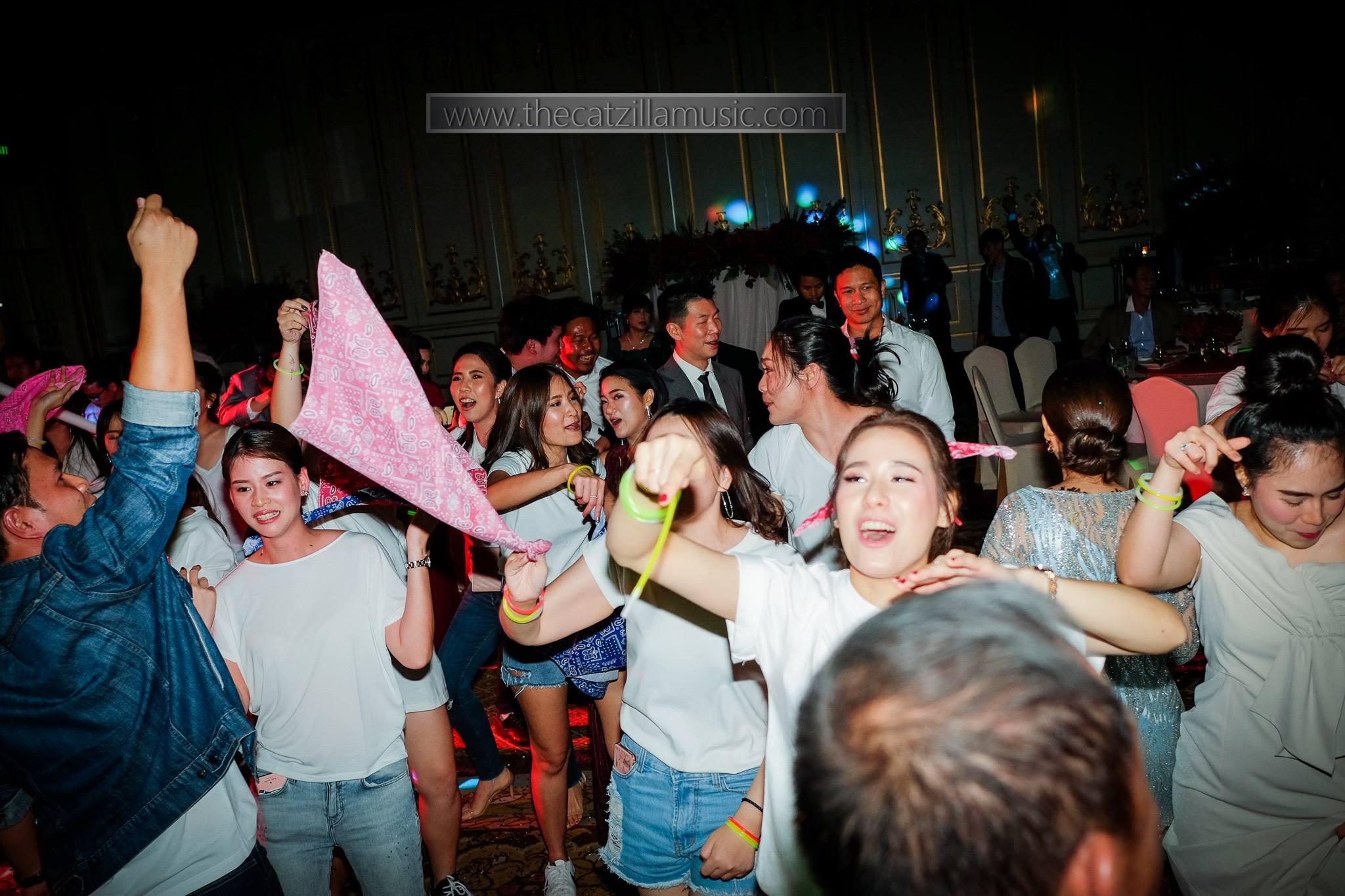 After-Party-Wedding-mandarin-oriental-bangkok-After Party งานแต่งงาน-วงดนตรีงานเลี้ยง-บุ๋นแบนด์-Catzilla